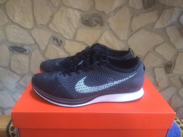 Nike flyknit racer grey - photo 1/5