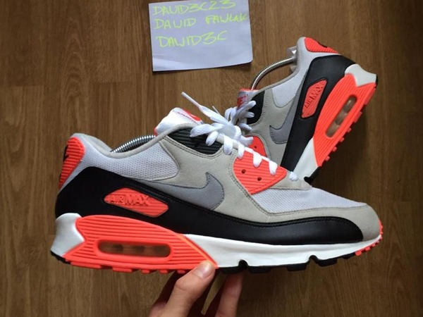 Nike Air Max 90 infrared 2010 - photo 1/2