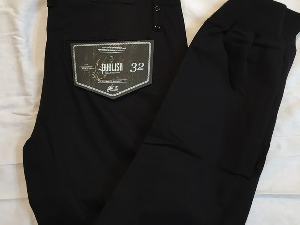 Publish Jogger Pants Black Noir - photo 1/1