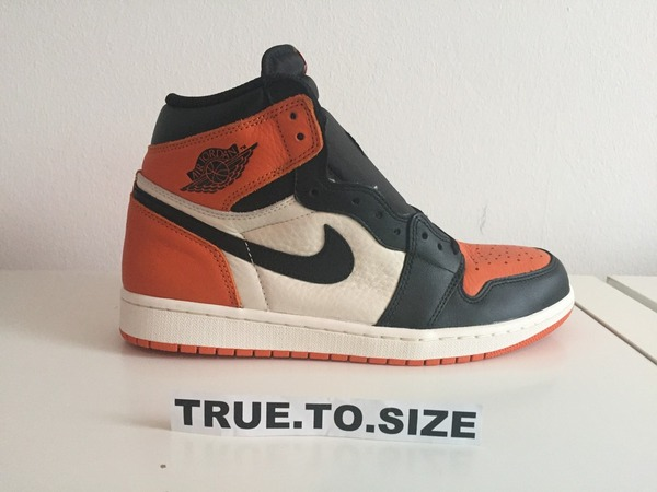 Nike Air Jordan 1 shattered backboard US 10 / DS - photo 1/9