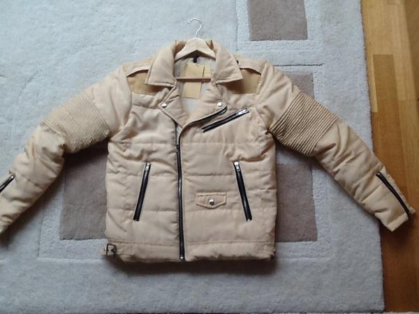 Arctic Premium Biker Puffer Jacket Pearl Size Medium - photo 1/3