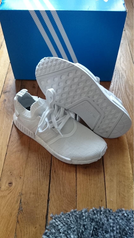 adidas 6 5. adidas nmd r1 pk primeknit monochrome white size 6 us 5,5 uk 38 2 5
