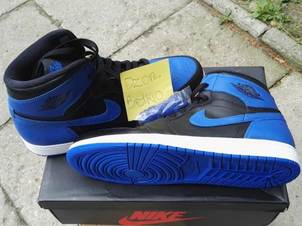 Nike Air jordan 1 Royal Blue 2013 - photo 1/3