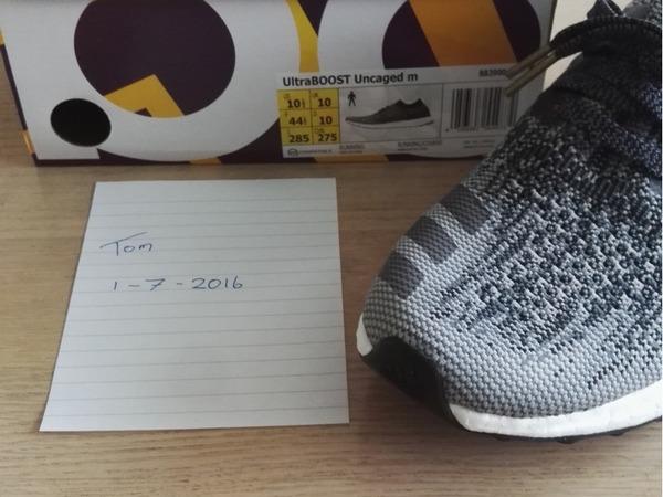 Adidas UltraBOOST Uncaged Black / Dark Grey UK 10 / US 10,5 (Ultra Boost) - photo 1/3