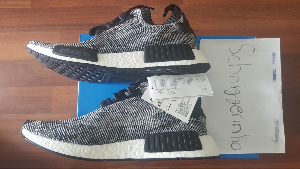 Adidas NMD R1 Camo Glitch Camo Pack BB 2886 SIZE 9 12 IN HAND