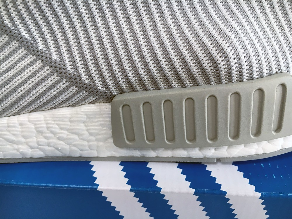 US11 Adidas NMD City Sock CS1 CS-1 Primeknit PK White Silver Solid Grey S32191 - photo 4/9