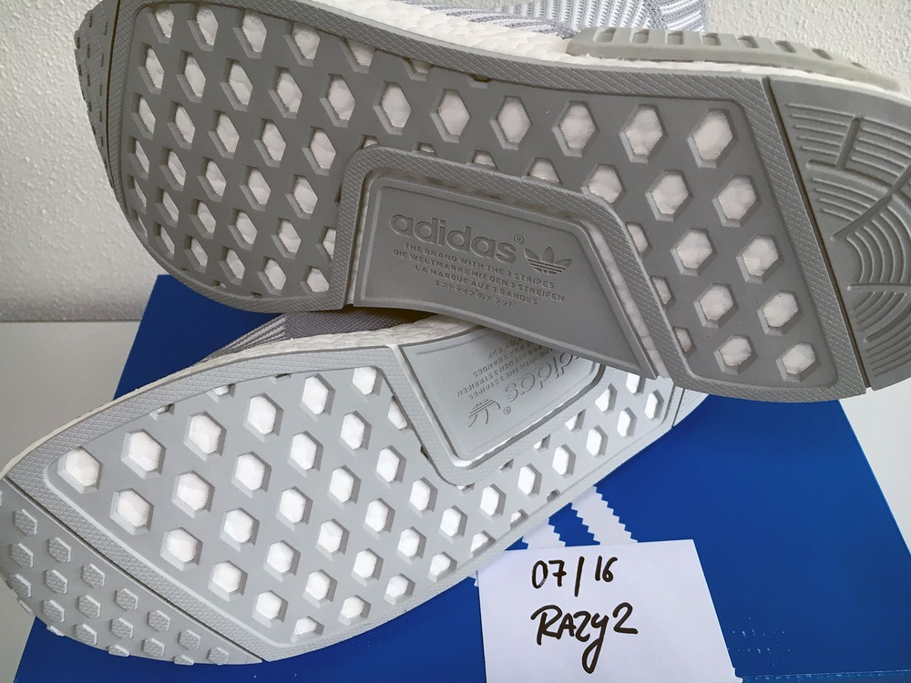 US11 Adidas NMD City Sock CS1 CS-1 Primeknit PK White Silver Solid Grey S32191 - photo 5/9