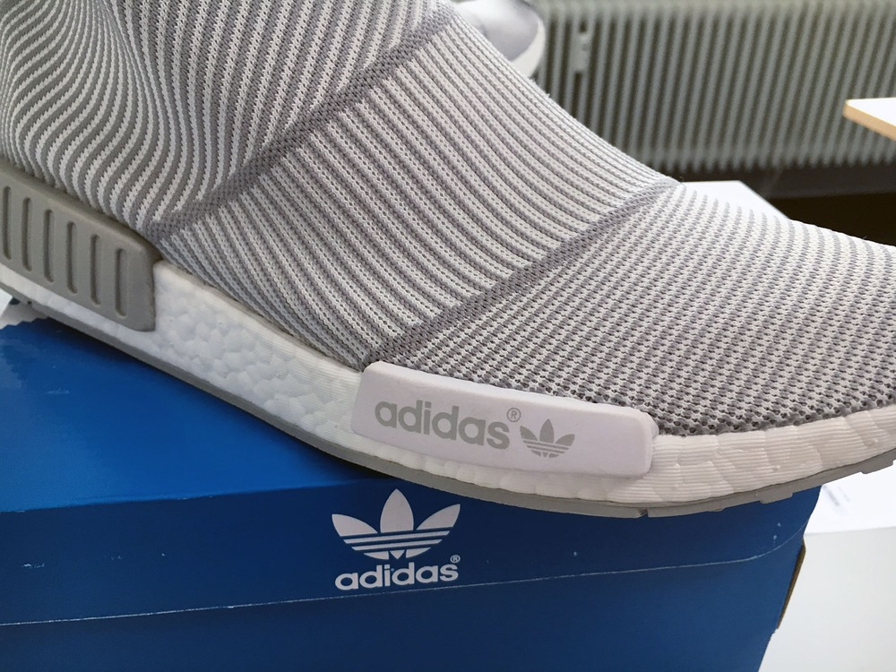 US11 Adidas NMD City Sock CS1 CS-1 Primeknit PK White Silver Solid Grey S32191 - photo 8/9