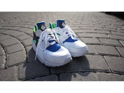Image of Air Huarache Scream Green OG