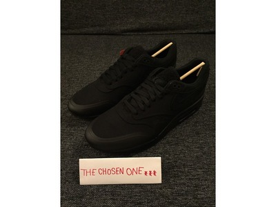 Image of NIKE AIR MAX 1 V SP 'PATCH PACK' BLACK U...