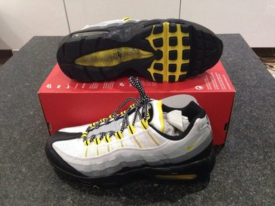 Image of New Nike Air Max 95 Black And Yellow Eur...