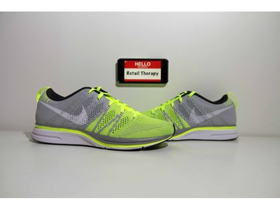 Image of NIKE FLYKNIT TRAINER+ VOLT