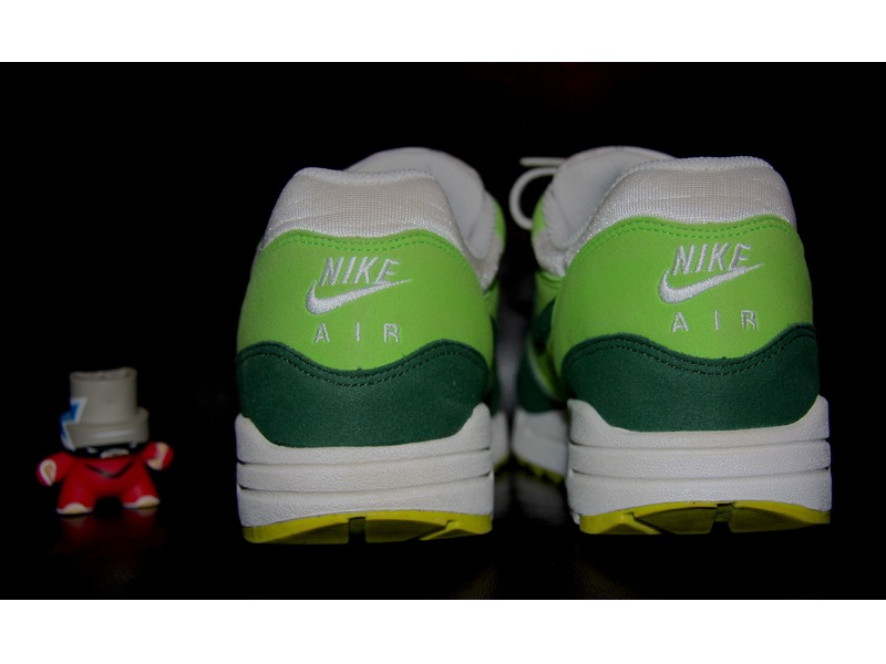 ... nike air max 1 nd white gorge green action green ...