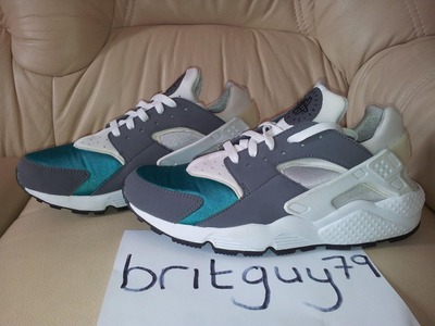 Image of NEW Nike Air Huarache LE Teal Samples 20...