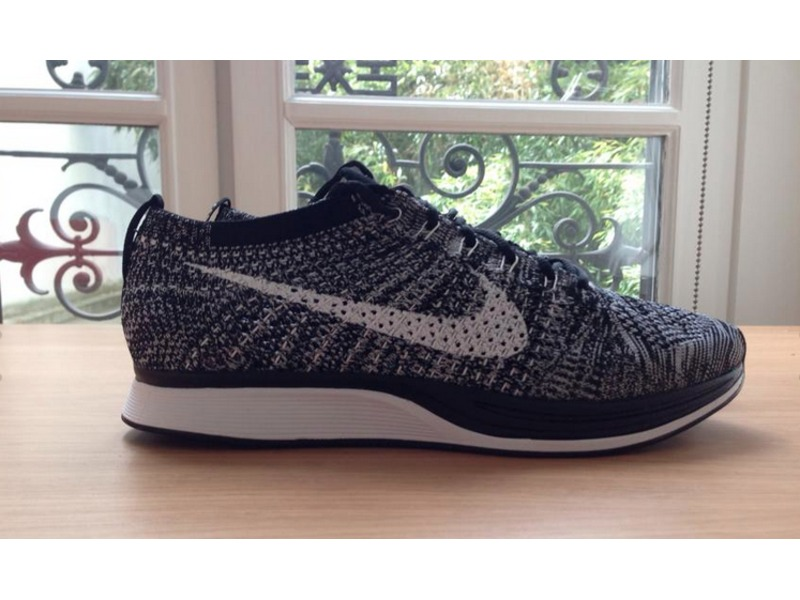nike flyknit oreo racer 2 0. Black Bedroom Furniture Sets. Home Design Ideas