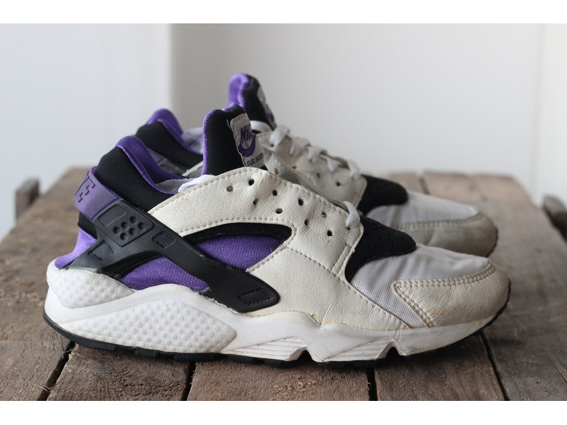 nike air huarache purple