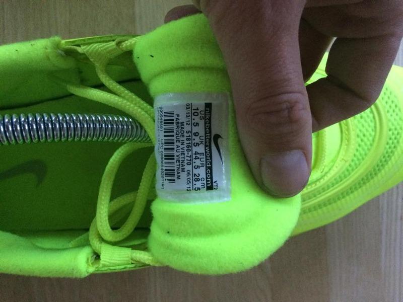 Nike Air Max 97 CVS Volt White