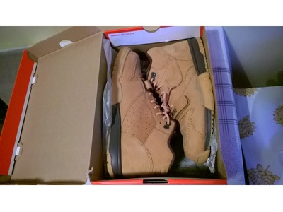 Image of NIKE AIR TRAINER 1 MID QS FLAX / WHEAT 1...