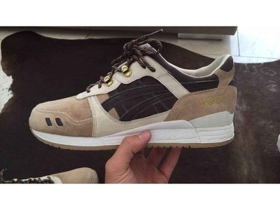 "Image of WOEI x Asics GL 3 ""Cervidae"" US 11"