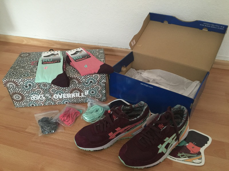 asics sight desert rose