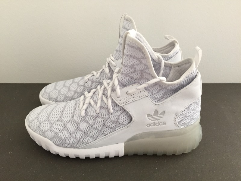 adidas Tubular X 2.0 PK Grey / White 13 US