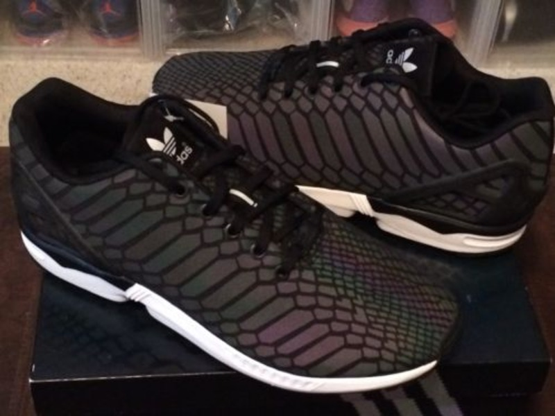Adidas Original ZX Flux 'Xeno' Black