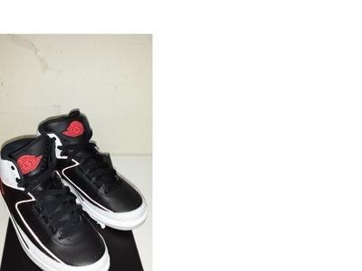 Nike Air Jordan II Black Infrared
