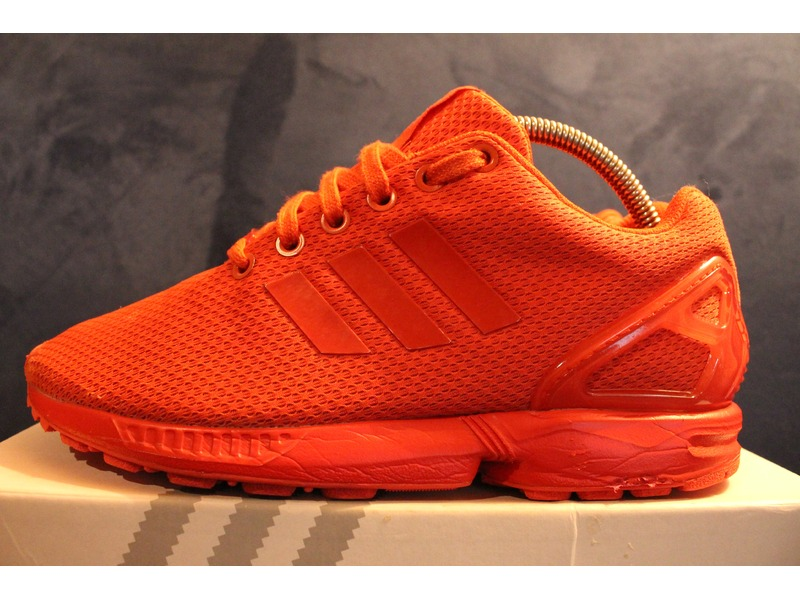 adidas zx flux all red rot 38 2 3 us6 uk5 5 24cm 215610. Black Bedroom Furniture Sets. Home Design Ideas