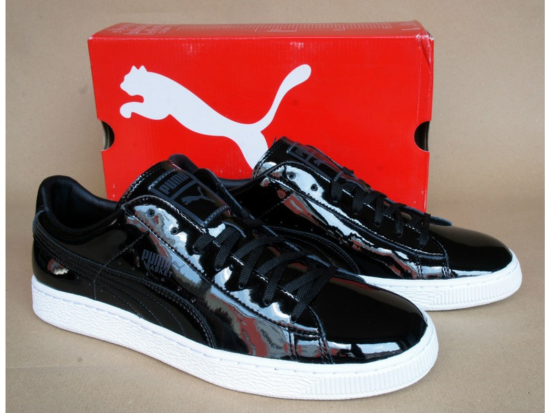 puma sneakers patent leather