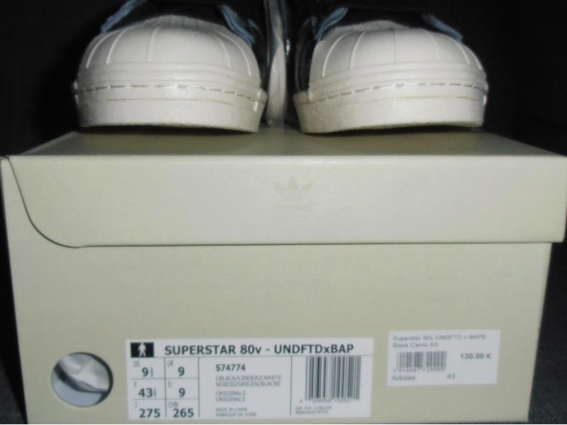adidas consortium superstar 80v undftd x bape