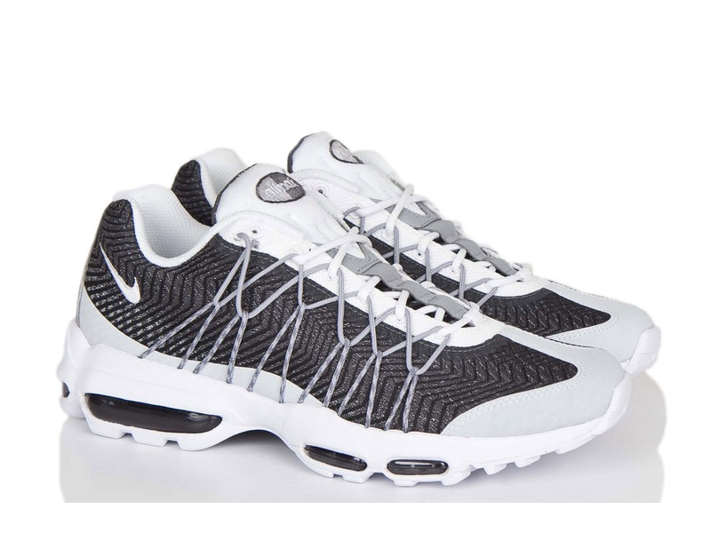 Air Max 95 Ultra Jacquard Black And White