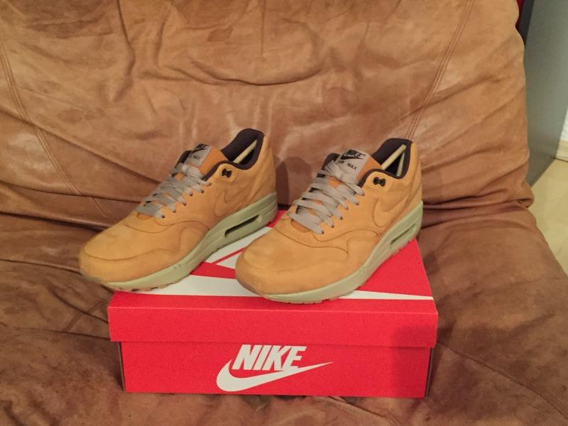 Nike Air Max 1 Leather Premium Wheat
