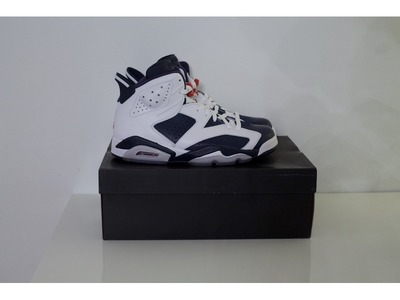 """Image of Air Jordan 6 Olympic """"including shipping..."""