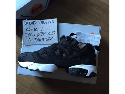 Image of Reebok Pump Fury MASTERMIND JAPAN