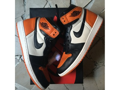 Image of Air Jordan 1 Retro High Shattered Backbo...