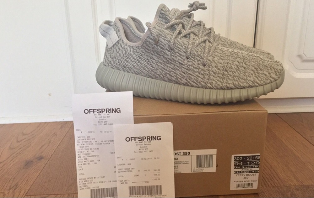 adidas yeezy boost 350 moonrock for sale