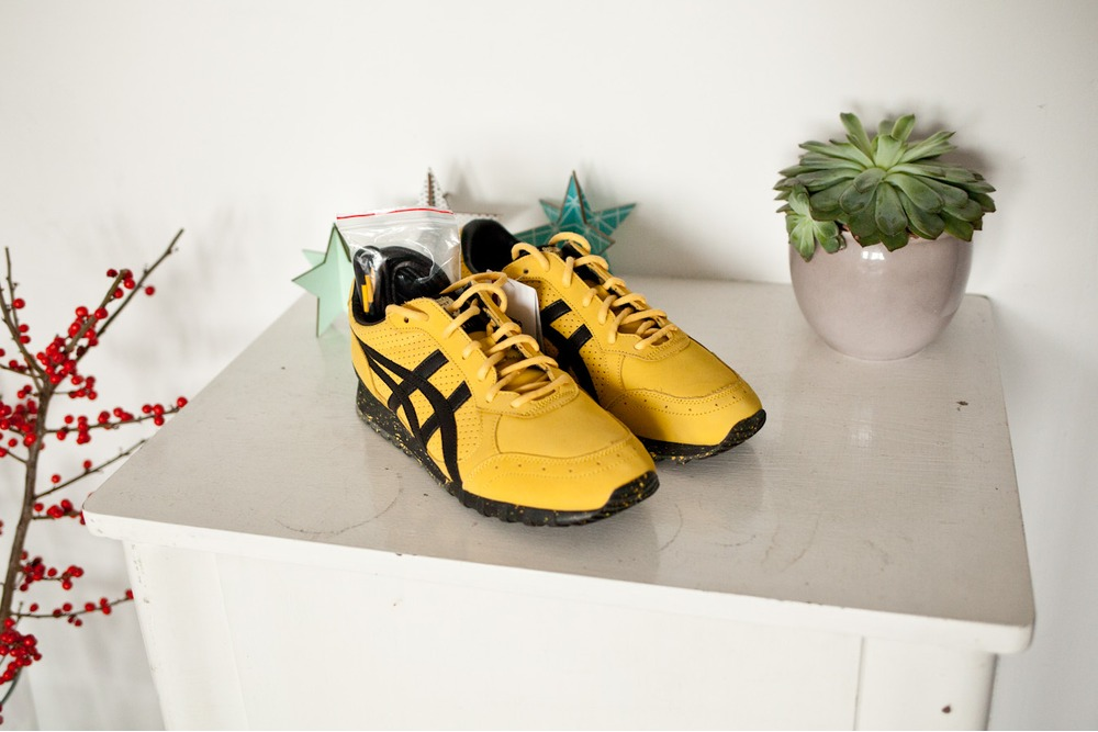 Onitsuka Tiger por Asics Mexico 66 Bruce Lee Amarillo Negro Kill Bill