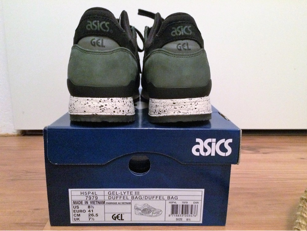 asics gel lyte 3 duffle bag