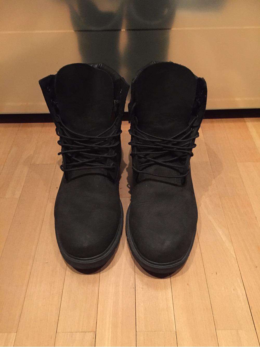 timberland men's 6 inch premium black