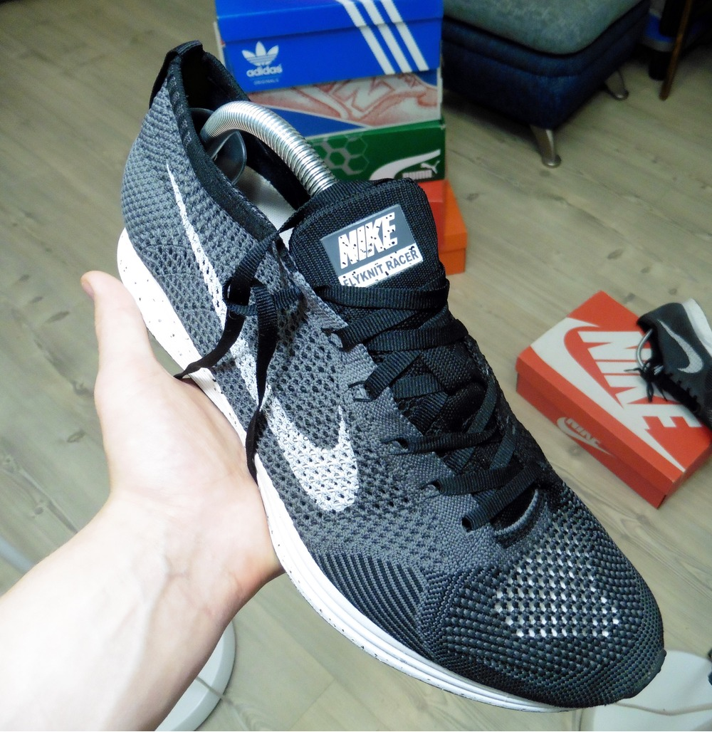 ... Nike flyknit racer Oreo custom - photo 14 ...