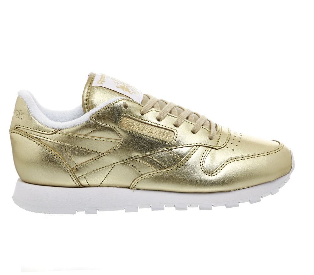 reebok classic leather gold us6 eu36 uk3 5 272843 from