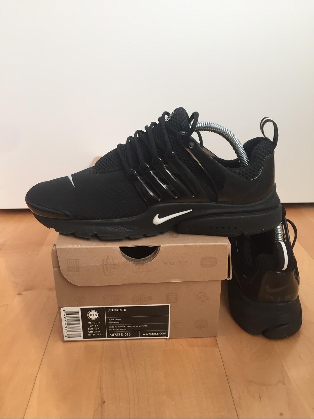 Nike Presto Triple Black