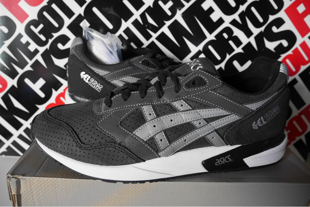 Asics Gel Saga Black Purple Teknodrom Robotic & Automation