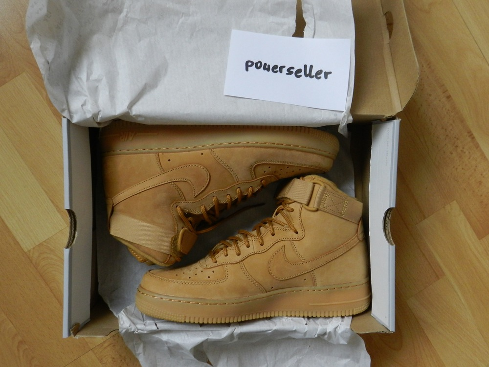 Air Force 1 High 07 Lv8 Flax