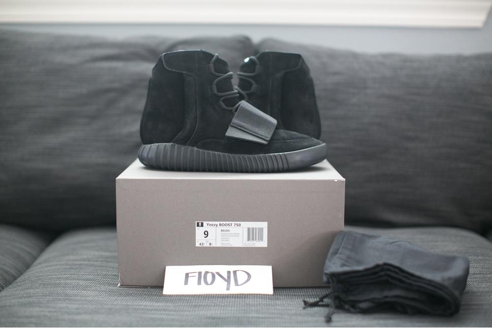 b1faf741a ... australia factory online 327c0 6896d adidas yeezy boost 750 triple  black size 9 photo 1 269d5