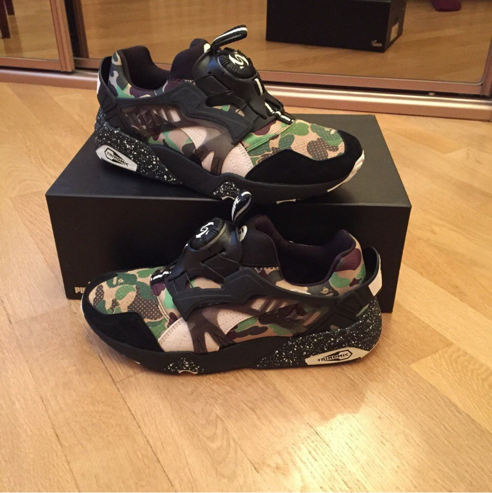 Buy. Puma Disc Blaze x Bape (Green Camo) - photo 1/1