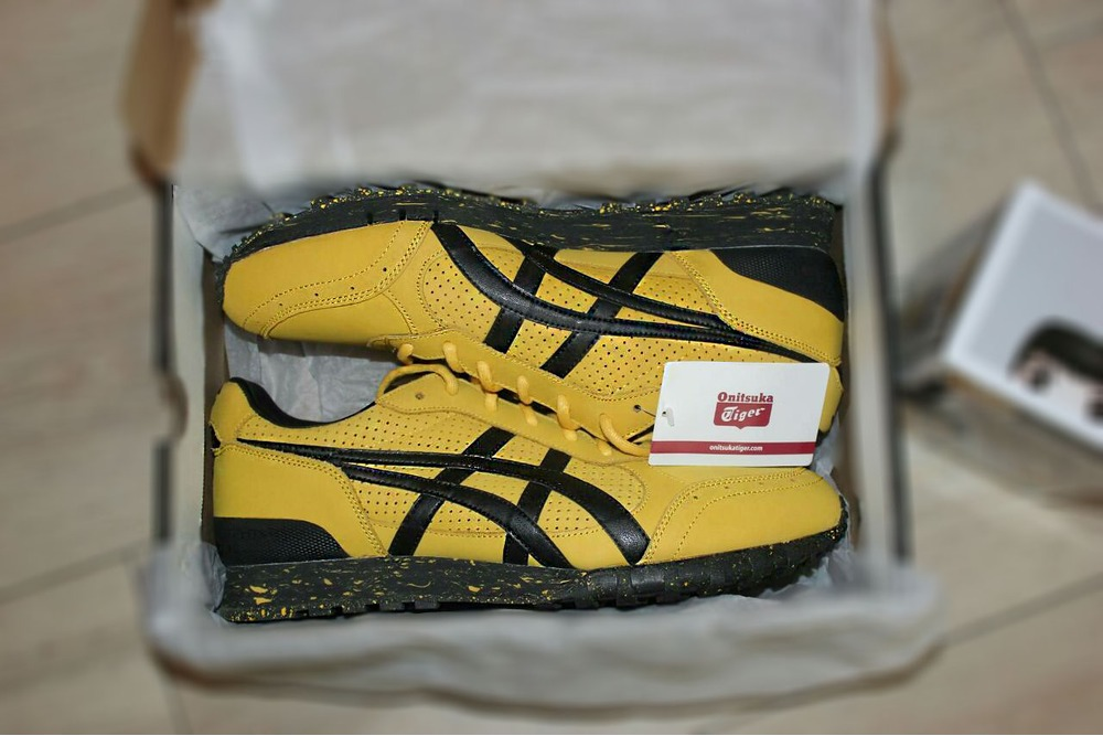 US size 4.5 BAIT x Asics x Bruce Lee Legend Onitsuka Tiger Colorado