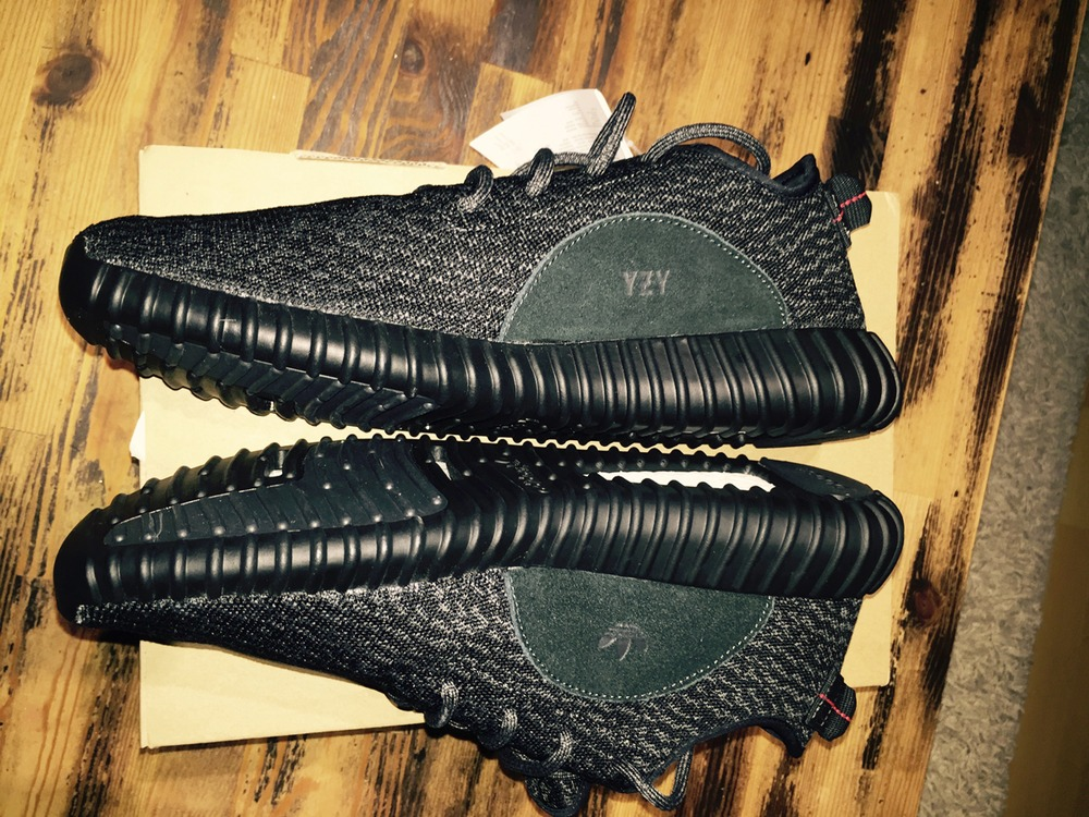Black Yeezy 350 Boost Fake Vs Authentic Review From