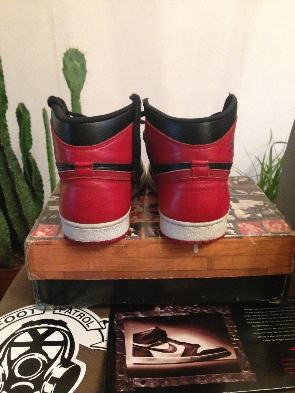 Jordan 1 Bred 1994 7US - photo 4/5
