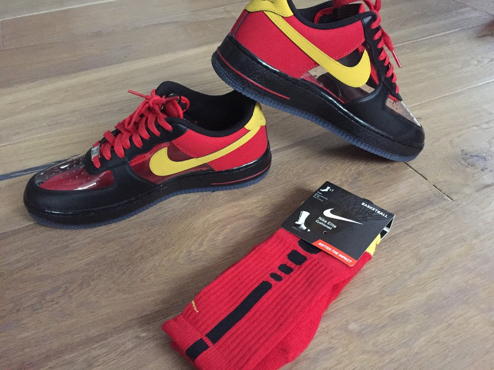 kyrie irving sneakers mike air force